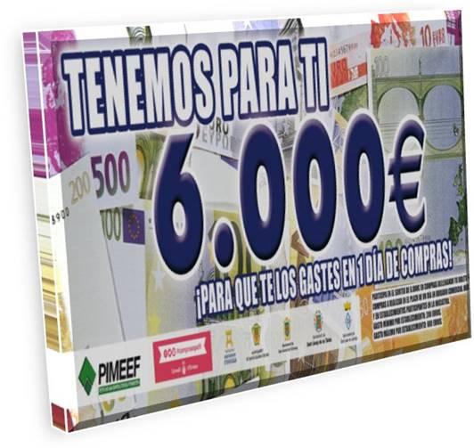 Vols que el teu comerç regali 6000€?
